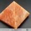 หินทรงพีระมิค- อเวนจูรีนสีส้ม Orange Aventurine (154g)