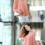 [พร้อมส่ง]เสื้อสตรีผ้าชีฟอง สวยเรียบสไตล์เกาหลีเหมือนแบบค่ะ cutting/pattern เนี้ยบ รหัส A71 thumbnail 3