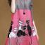 [พร้อมส่ง]เดรสไสตล์เกาหลีดีเทล ผ้าพลีทโพลีเอสเตอร์ พิมพ์ลายที่ตัวเสื้อ คอกลมแขนสามส่วน ทรงสวย เนื้อผ้าทิ้งตัวสวย การตัดเย็บเรียบร้อย สีสดชัด คุณภาพดีค่ะMN34 thumbnail 1