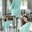 [พร้อมส่ง]เสื้อสตรีผ้าชีฟอง สวยเรียบสไตล์เกาหลีเหมือนแบบค่ะ cutting/pattern เนี้ยบ รหัส A71 thumbnail 7
