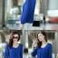 [พร้อมส่ง]เสื้อสตรีผ้าชีฟอง สวยเรียบสไตล์เกาหลีเหมือนแบบค่ะ cutting/pattern เนี้ยบ รหัส A71 thumbnail 9