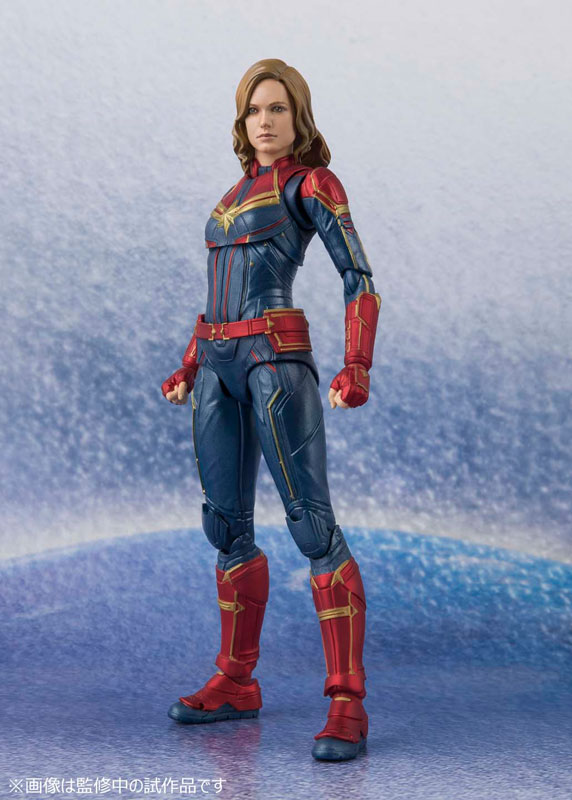 IN STOCK BANDAI SPIRITS NEW SH S.H captain marvel Figuarts Captain Marvel