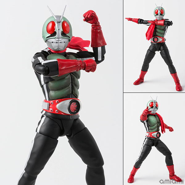 Masked Rider 1 USA Shinkocchou Seihou New Bandai S.H Figuarts