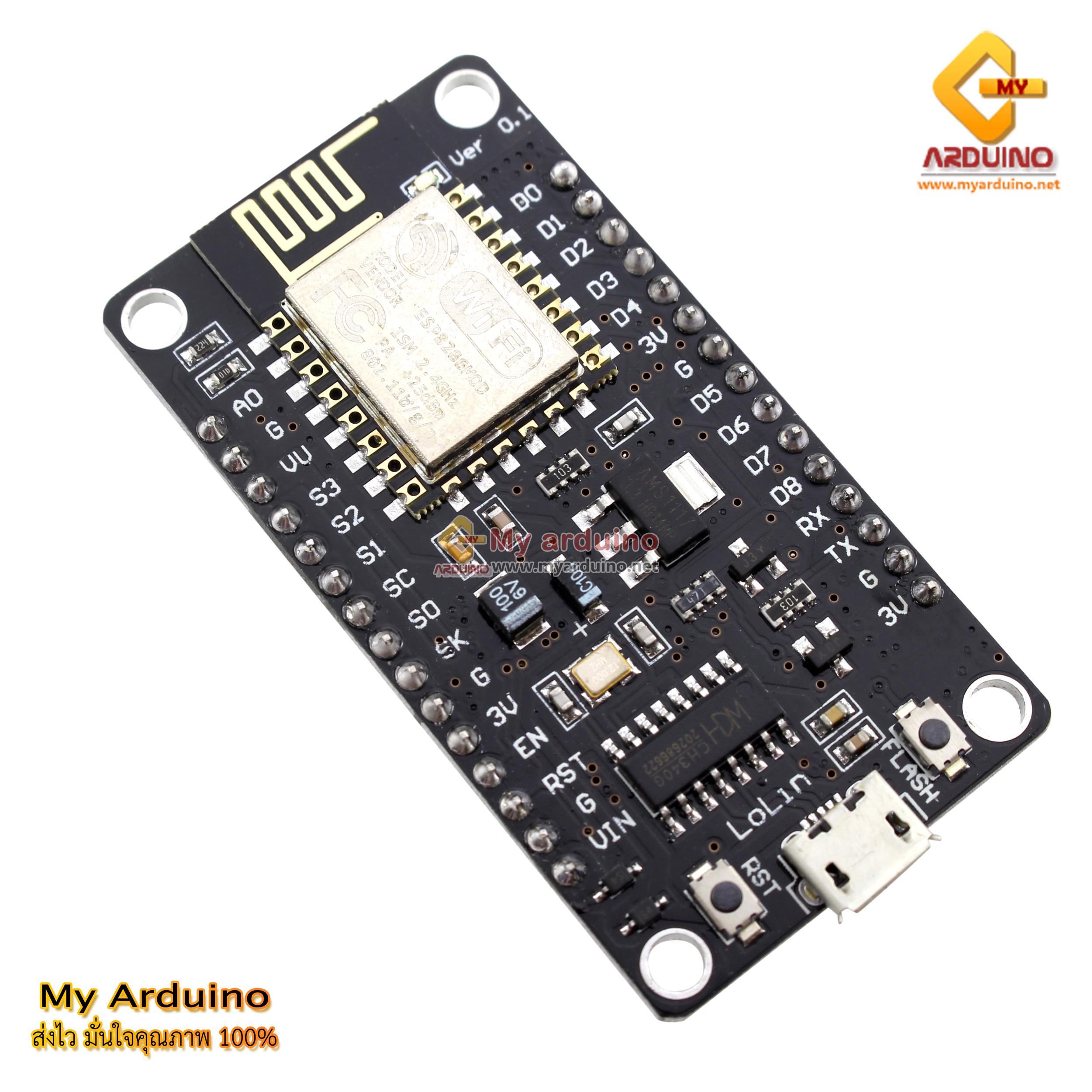 NodeMcu Lua CH340G ESP8266 WIFI Internet Development Board Module M