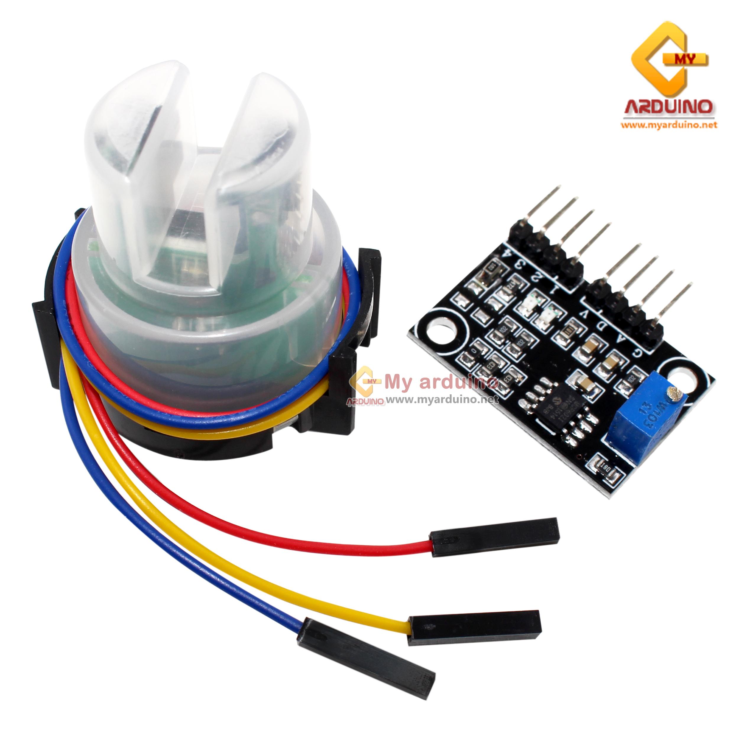 เซ็นเซอร์วัดความขุ่นของน้ำ EC Sensor Turbidity sensor